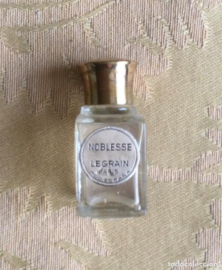 ANTIGUA MINIATURA DE PERFUME NOBLESSE DE LEGRAIN PARIS (Coleccionismo - Miniaturas de Perfumes)