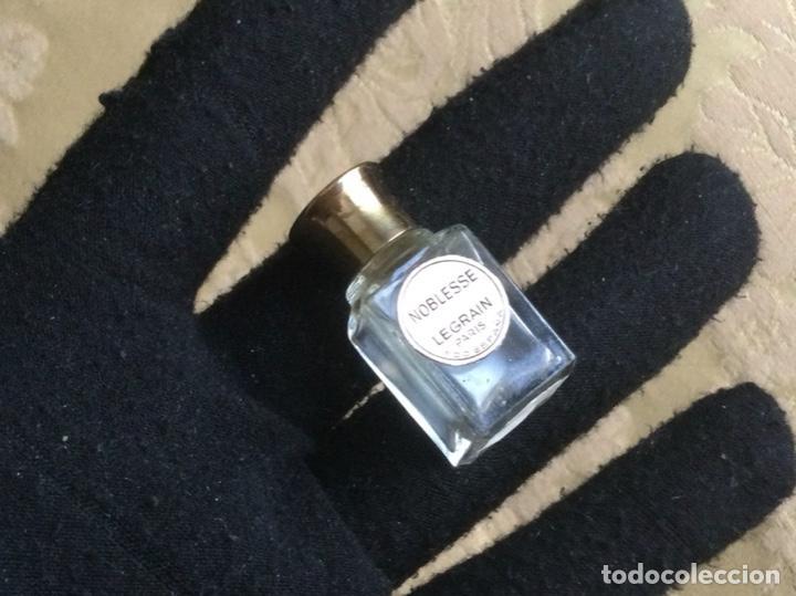 Miniaturas de perfumes antiguos: ANTIGUA MINIATURA DE PERFUME NOBLESSE DE LEGRAIN PARIS - Foto 6 - 231827930