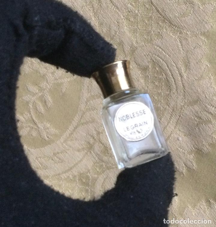 Miniaturas de perfumes antiguos: ANTIGUA MINIATURA DE PERFUME NOBLESSE DE LEGRAIN PARIS - Foto 7 - 231827930