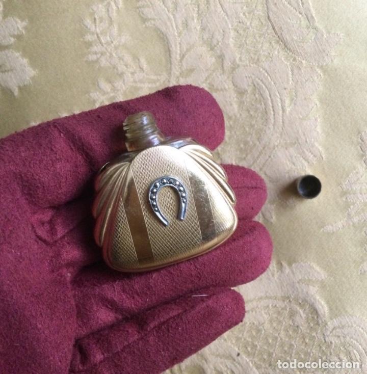 Miniaturas de perfumes antiguos: ANTIGUO PERFUMERO MINIATURA MODERNISTA - Foto 6 - 231830570