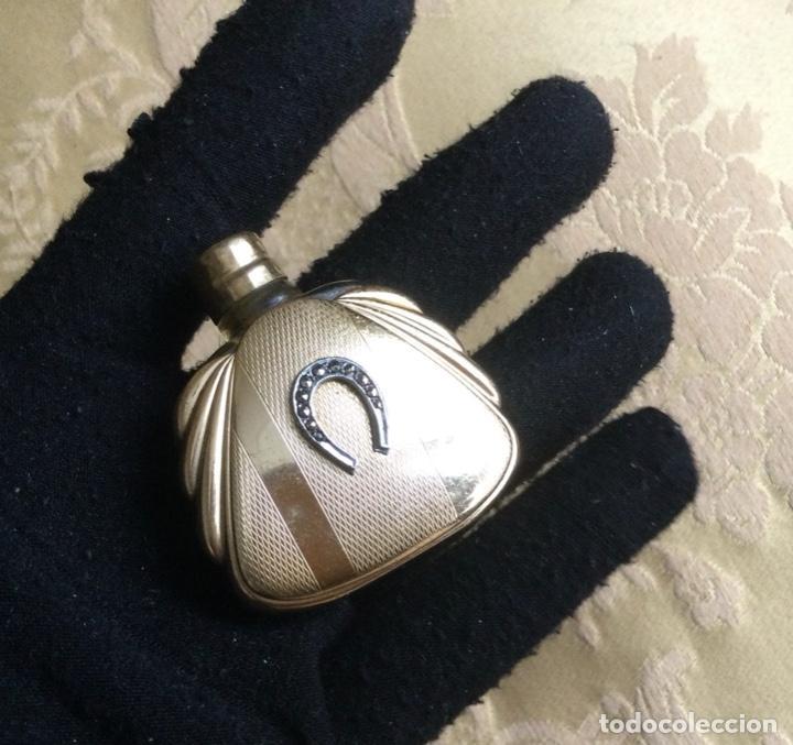 Miniaturas de perfumes antiguos: ANTIGUO PERFUMERO MINIATURA MODERNISTA - Foto 8 - 231830570