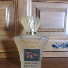 Miniaturas de perfumes antiguos: ANTIGUO FRASCO DE PERFUME TRESOR DE 100 MM. Lote 232592490