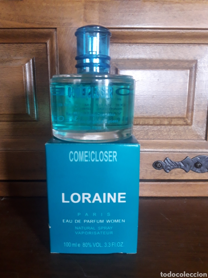 PERFUME COMECLOSER, LORAINE, PARÍS, 100 MM (Coleccionismo - Miniaturas de Perfumes)