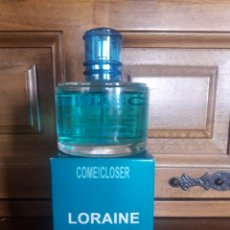 Miniaturas de perfumes antiguos: PERFUME COMECLOSER, LORAINE, PARÍS, 100 MM. Lote 232595700