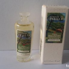 Miniaturas de perfumes antigos: MINIATURA ACQUA DELLE MACCHIA MEDITERRANEA- VIAGGIO IN ITALIA DE BORSARI. Lote 233366045