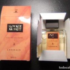 Miniaturas de perfumes antiguos: COLONIA EAU DE COLOGNE ROYALE AMBREE, LEGRAIN. 100 ML NUEVO ,LLENO DE TRASTIENDA, NO ES MINIATURA. Lote 234290510