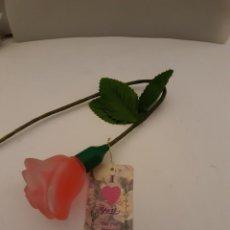 Miniaturas de perfumes antiguos: FRASCO DE COLONIA CON FORMA DE FLOR PRECIO POR UNIDAD. Lote 238694615