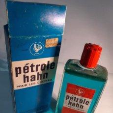 Miniaturas de perfumes antiguos: FRASCO DE PETRÓLEO PARA EL CABELLO HAHN// DESCATALOGADO DE ANTIGUA PERFUMERÍA. Lote 241793675
