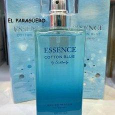 Miniaturas de perfumes antiguos: PERFUME DE LUJO DE 100 MIL ESSENCE COTTON BLUE -PERFUME DE LUJO SUAVE FRESCO MARAVILLOSO Y DELICIOSO. Lote 244871155