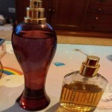 Miniaturas de perfumes antiguos: EAU DE LANCASTER Y HECHIZO. Lote 246192295