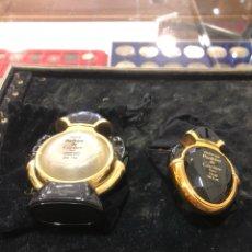 Miniaturas de perfumes antiguos: LOTE DE DOS PERFUMES CARTIER, VINTAGE,. Lote 246451100