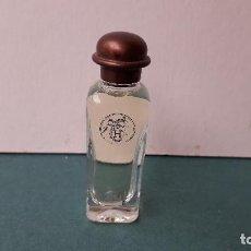 Miniaturas de perfumes antiguos: MINIATURA DE PERFUME: EAU D´HERMES, 7,5ML, 6,5CM APROX. Lote 246560570