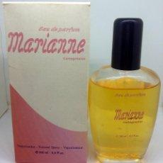 Miniaturas de perfumes antiguos: PERFUME MARIANNE 100 ML BOTE LLENO Y EN CAJA. Lote 247912635