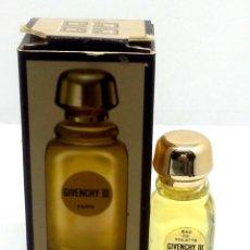 Miniaturas de perfumes antiguos: COLONIA GIVENCHY MINIATURA 4 ML EN CAJA Y LLENA. Lote 247915330