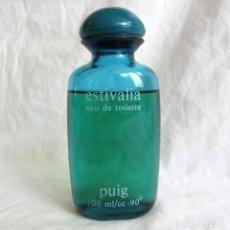 Miniaturas de perfumes antiguos: FRASCO DE COLONIA ESTIVALIA DE PUIG, 100 ML. Lote 252390695