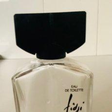 Miniaturas de perfumes antiguos: FRASCO CRISTAL VACÍO FIDJI DE GUY LAROCHE, 115 ML.. Lote 252633160