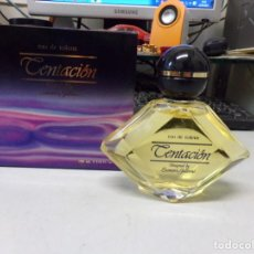 Miniaturas de perfumes antiguos: COLONIA PERFUME EAU DE TOILETTE TENTACIÓN LEONIERO GALLEANI PARERA 100 ML NUEVO VINTAGE. Lote 254201535