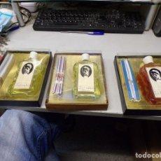 Miniature di profumi antiche: ANTIGUO ESTUCHE COLONIA PERFUME MASAJE FOR MEN HOMBRE AVIPU POR ESTRENAR PRECIO UNIDAD. Lote 254324025