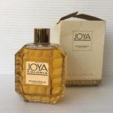 Miniaturas de perfumes antiguos: JOYA. COLONIA. MYRURGIA. 7 FL. OZS.. Lote 255495445