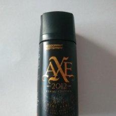 Miniaturas de perfumes antiguos: BOTE VACÍO DESODORANTE DEODORANT BODY SPRAY AXE 2012 FINAL EDITION. Lote 255537790