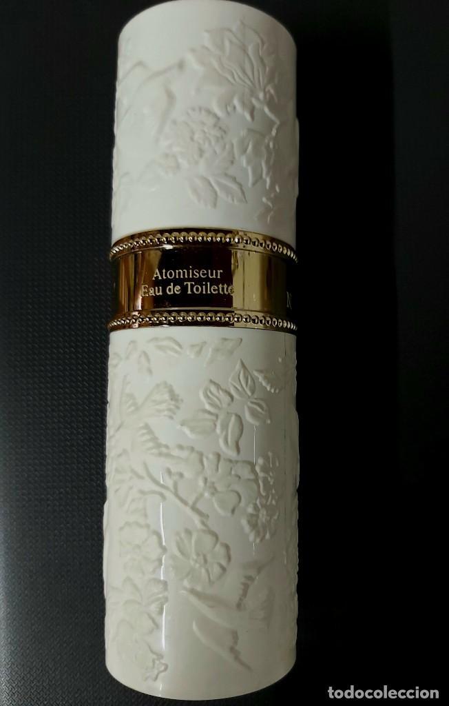 Miniaturas de perfumes antiguos: NINA RICCI PARFUMS L AIR DU TEMPS FRASCO PARA COLECCIÓN VACÍO - Foto 2 - 257341425