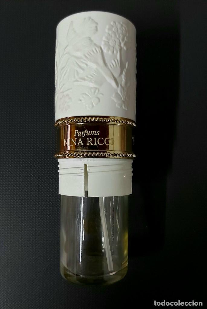 Miniaturas de perfumes antiguos: NINA RICCI PARFUMS L AIR DU TEMPS FRASCO PARA COLECCIÓN VACÍO - Foto 5 - 257341425
