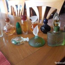 Miniaturas de perfumes antiguos: YVES ROCHER 11 MINIATURAS. Lote 257454510