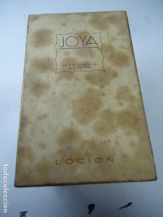 Miniaturas de perfumes antiguos: BOTELLA NUEVA MAJA MYRURGIA 7 JOYA LOCIÓN CASI LLENA SI LE FALTA ALGO ES POE EVAPORACIÓN DEL TIEMPO - Foto 6 - 257624375