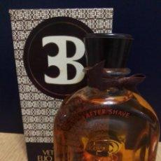 Miniaturas de perfumes antiguos: ( ÚLTIMA UNIDAD)PERFUMES ELÍO BERHANYER . 240 ML. VETIVER HELIOS AFTER SHAVE.. Lote 260421480