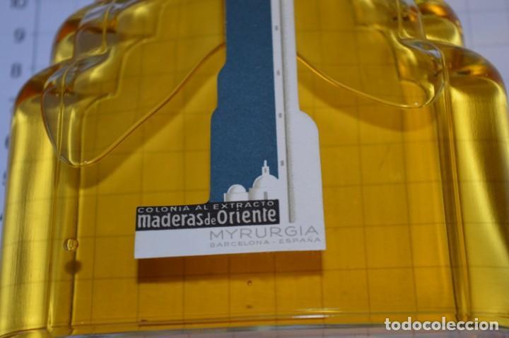 Miniaturas de perfumes antiguos: 1/4 Litro / Muy antiguo, frasco / MADERAS DE ORIENTE - MYRURGIA - Original - ¡Mira fotos/detalles! - Foto 5 - 260832050