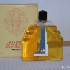 Miniaturas de perfumes antiguos: 1/4 LITRO / MUY ANTIGUO, FRASCO / MADERAS DE ORIENTE - MYRURGIA - ORIGINAL - ¡MIRA FOTOS/DETALLES!. Lote 260832050