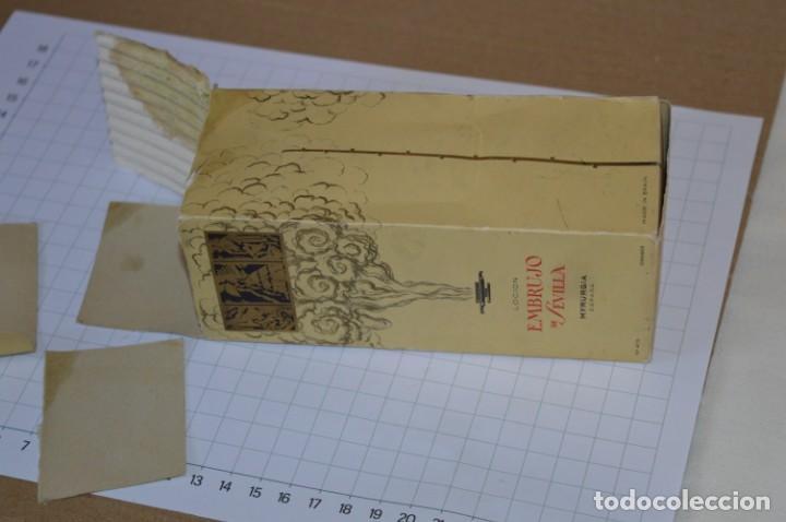 Miniaturas de perfumes antiguos: Muy antiguo, frasco / Loción EMBRUJO de SEVILLA de MYRURGÍA - Original - ¡Mira fotos/detalles! - Foto 6 - 260834030