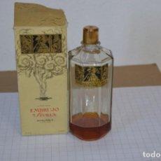 Miniaturas de perfumes antiguos: MUY ANTIGUO, FRASCO / LOCIÓN EMBRUJO DE SEVILLA DE MYRURGÍA - ORIGINAL - ¡MIRA FOTOS/DETALLES!. Lote 260834030