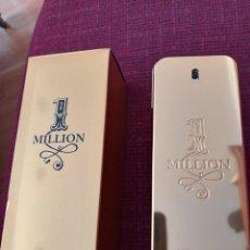 Miniaturas de perfumes antigos: EAU DE TOILETTE ONE MILLION 200 ML PACO RABANNE VACÍO CON CAJA PUIG FRANCIA. Lote 261899865