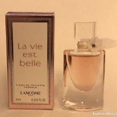Miniaturas de perfumes antiguos: MINIATURA LA VIE EST BELLE FLORALE. Lote 261956835