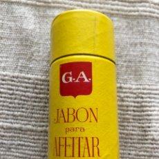 Miniaturas de perfumes antiguos: CAJA BARRA JABÓN DE AFEITAR GOTA DE ÁMBAR GA POR ABRIR BARBERIA..... Lote 261957310