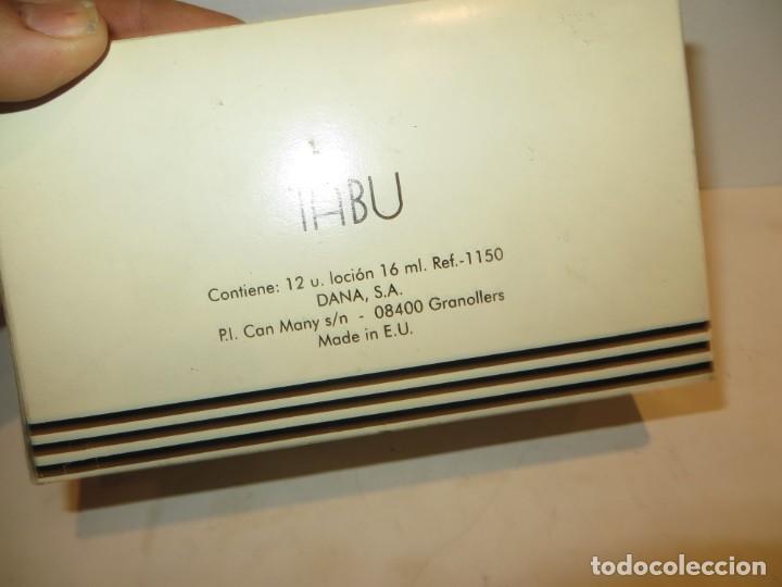 Miniaturas de perfumes antiguos: TABU ANTIGUA CAJA CON 12 LOCIONES DE COLONIA DE DANA DE 16 ML EN SU CAJA NUEVA RESTO PERFUMERIA - Foto 4 - 263186780