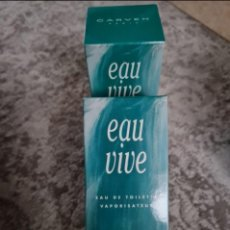 Miniaturas de perfumes antiguos: EAU VIVE CARVEN 120 ML.. Lote 263270595
