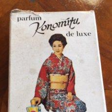 Miniaturas de perfumes antiguos: ANTIGUA COLONIA JAPÓN/CHINA CON SU CAJA. Lote 265784859