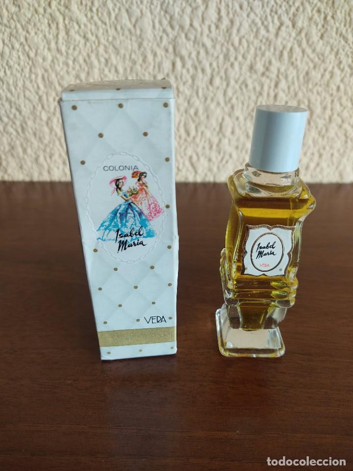 BOTELLA DE COLONIA ISABEL DE MARIA DE VERA (Coleccionismo - Miniaturas de Perfumes)