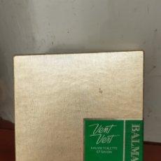Miniaturas de perfumes antiguos: VENT VERT DE BALMAIN. Lote 267837604