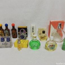 Miniaturas de perfumes antiguos: LOTE PERFUMES. ESENCIAS. MINIPERFUMES. LOTION. FLEUR CHERIE. GAELLE. ESCADA...... I. Lote 268610004