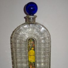 Miniaturas de perfumes antiguos: (M) PERFUMES - DISPENSADOR ORIGINAL COLONIA VIOLETA PARERA AÑOS 30 GRAN TAMAÑO. Lote 269250108