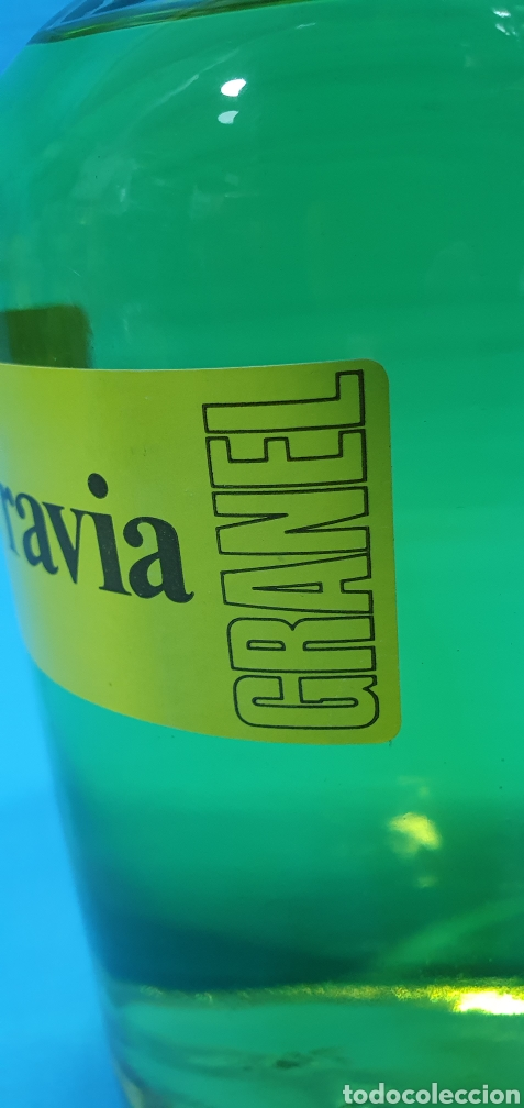 Miniaturas de perfumes antiguos: BOTELLA DE COLONIA GRANEL 1 L. - HENO DE PRAVIA - GAL - Foto 3 - 270694588