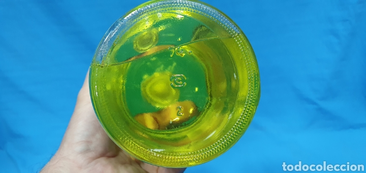 Miniaturas de perfumes antiguos: BOTELLA DE COLONIA GRANEL 1 L. - HENO DE PRAVIA - GAL - Foto 5 - 270694588