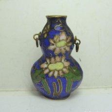 Miniaturas de perfumes antiguos: BONITO PERFUMERO CHINO ESMALTADO. S.XIX. CLOISONNE.. Lote 272265778