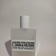 Miniaturas de perfumes antiguos: PERFUME - ZADIG & VOLTAIRE 50ML. Lote 272496408
