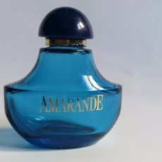Miniaturas de perfumes antiguos: FRASCO MINIATURA VACÍO AMARANDE MYRURGIA. Lote 274834278