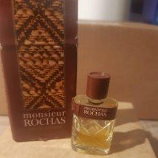 Miniaturas de perfumes antiguos: MINIATURA MONSIEUR ROCHAS. Lote 276752783