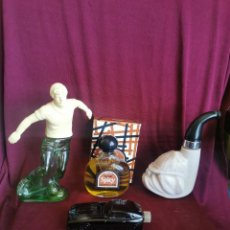 Miniaturas de perfumes antiguos: LOTE DE FRASCOS DE PERFUME DE HOMBRE AVON. AÑOS 70. Lote 277728688